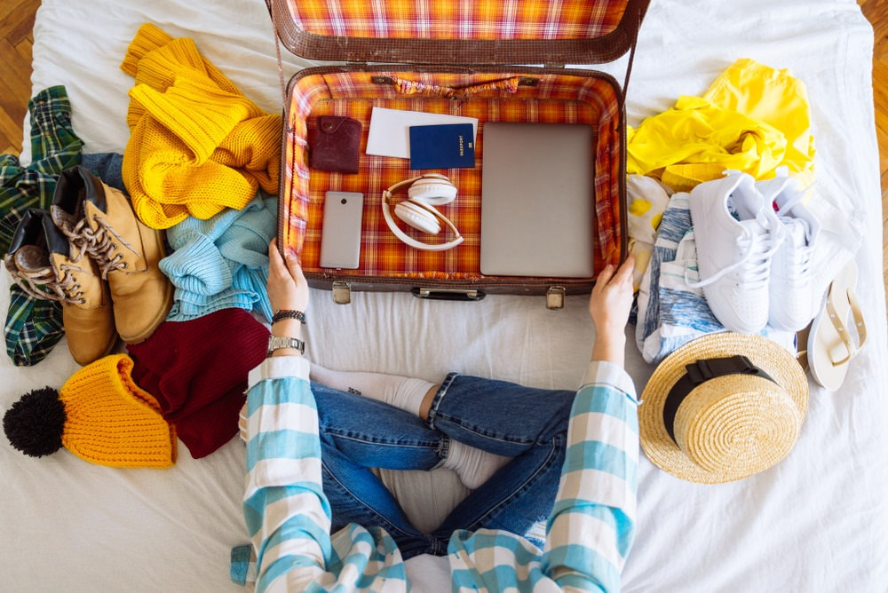Gather everything that you think you would need for the travel